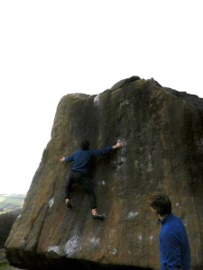 Deliverance - My first 7b+ and a sign that even lanky trad climbers can jump...