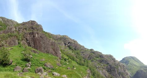 Wave Buttress, Glen Nevis