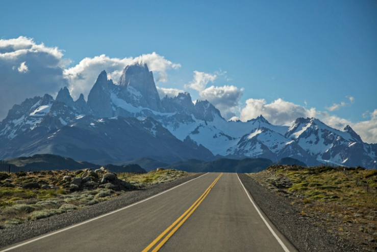Road to Chalten Patagonia