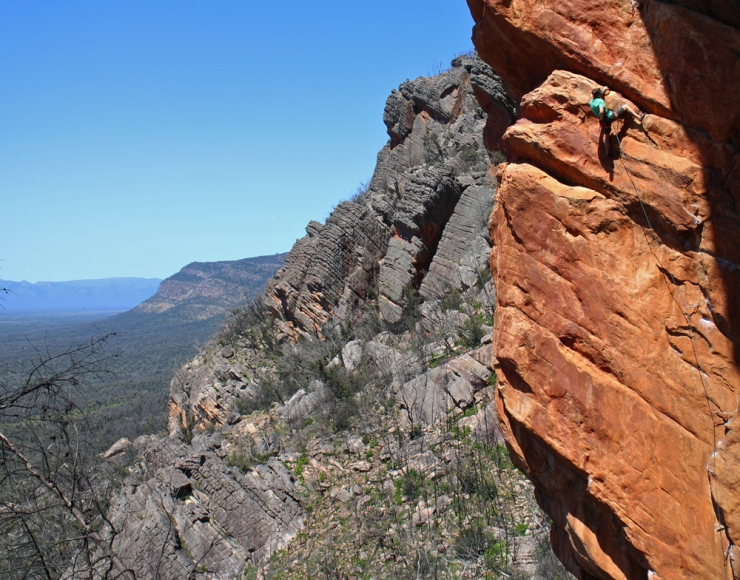 Ben Bransby on the same route, only looking a bit more casual about it...