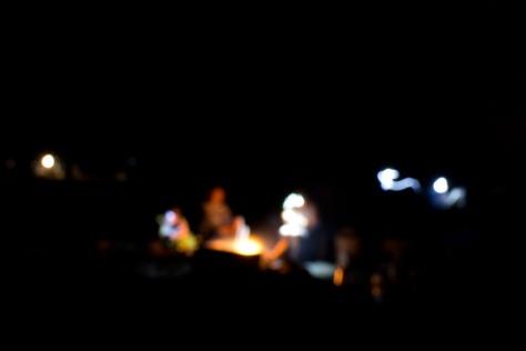 Scenes around the campfire