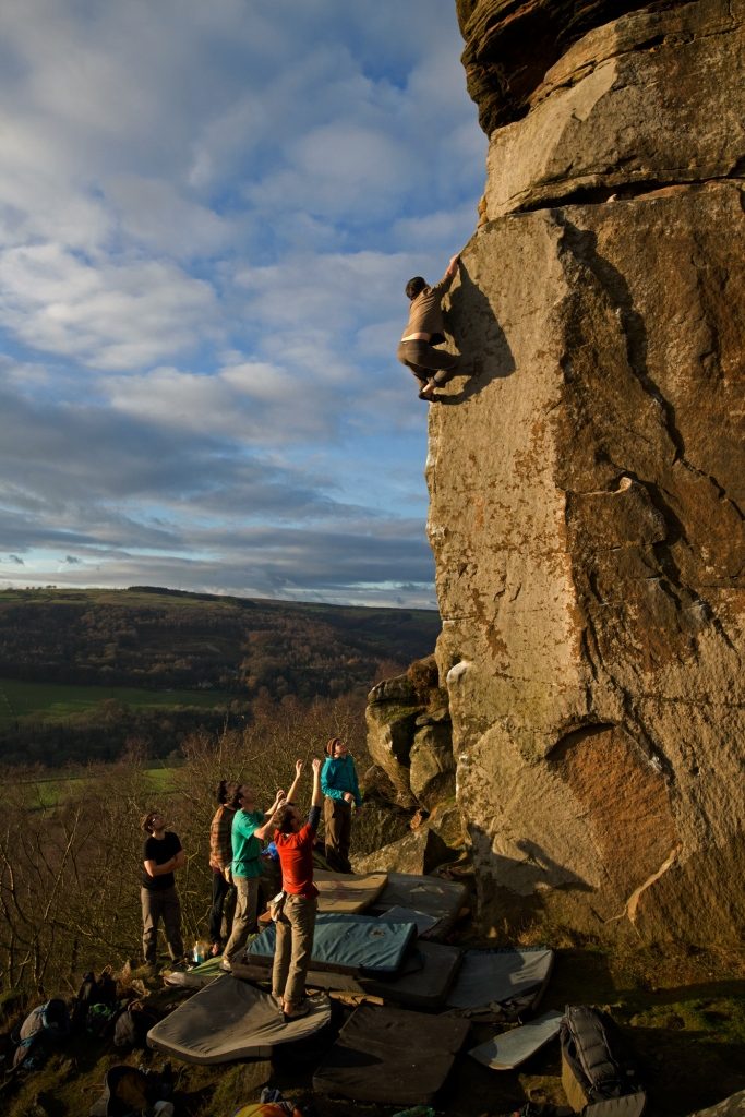 Ben Silvestre attaining that height where no matter how far your friends below are reaching up you are still a long, long way above them...