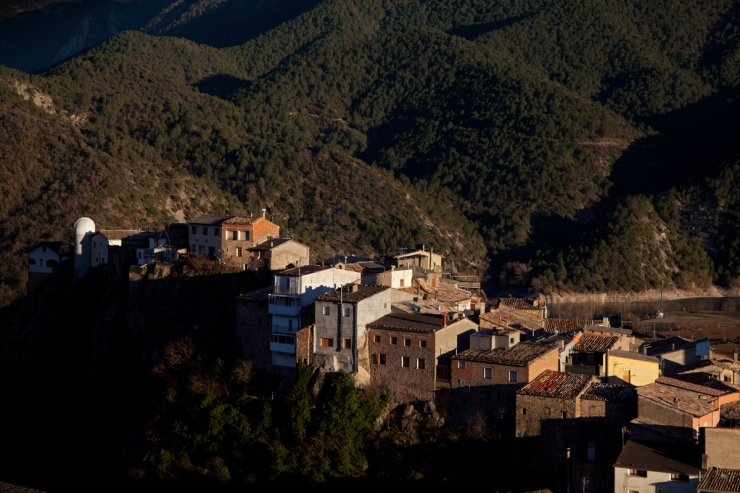 Coll de Nargo in the evening light