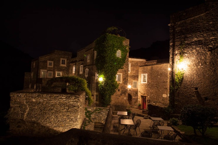 The stunning accommodation at Colletta