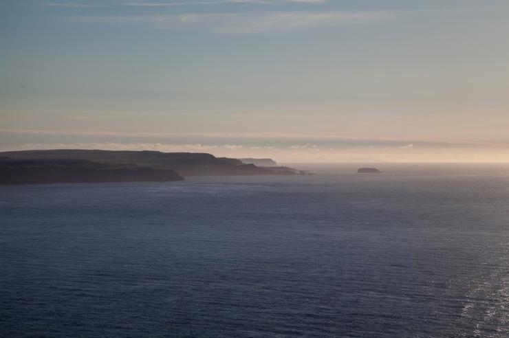 The Irish coastline