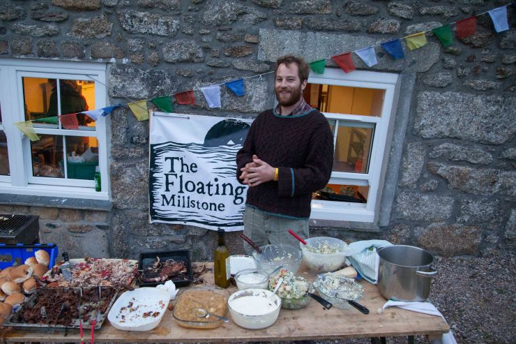 Pash Peters, Head Chef of the legendary Floating Millstone