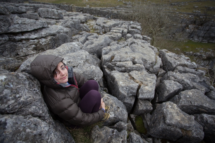 One of the many cold missions to Malham during March/April. This was taken during the chilly Easter weekend, where we spent as much time in The Listers Arms as we did the crag. This particular shot was taken on a rest day walk over the tops to see the limestone pavement.