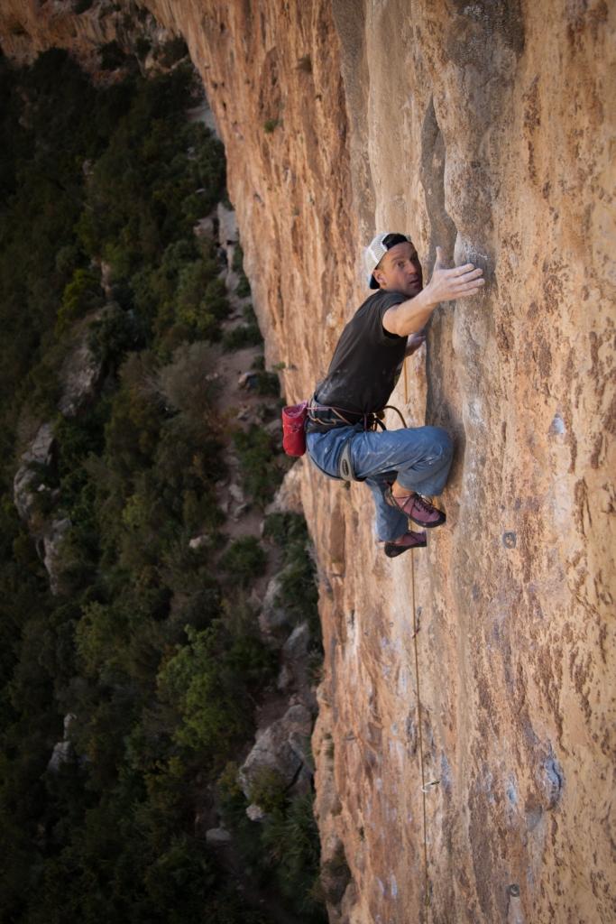 Jack Geldard on Super Furry Animal, Chulilla - Spain